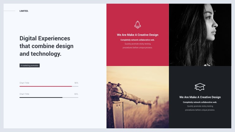 limited creative modern powerpoint template