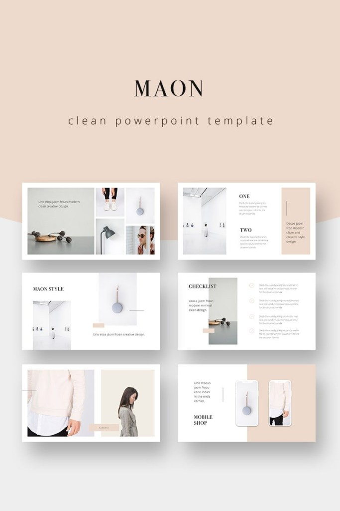 maon powerpoint template powerpoint template