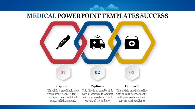 medical powerpoint with shapes