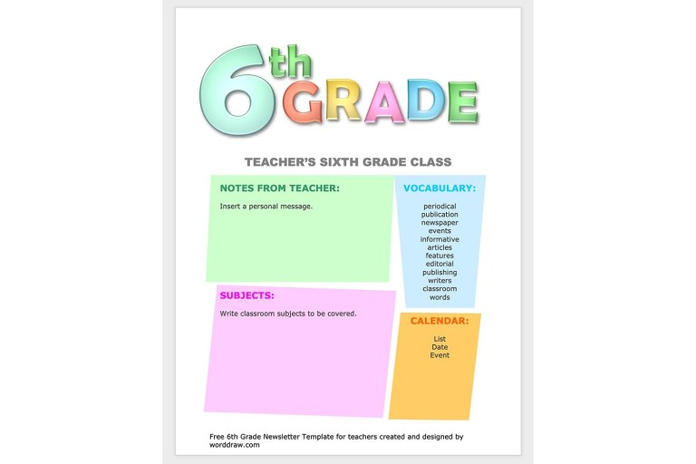 microsoft word templates for school use