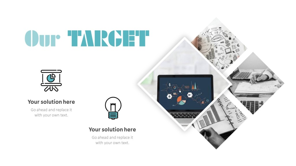 project report simple powerpoint templates
