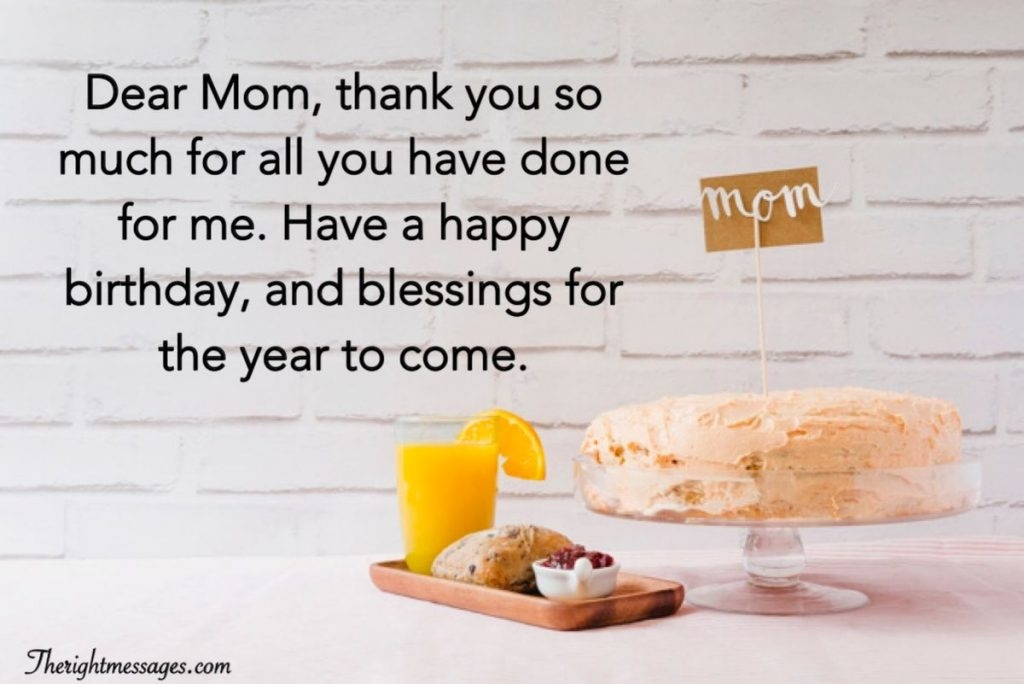 short and long happy birthday wishes for mom