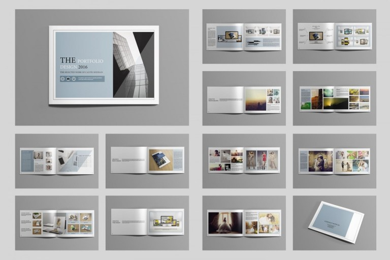 stunning indesign portfolio template inspiration