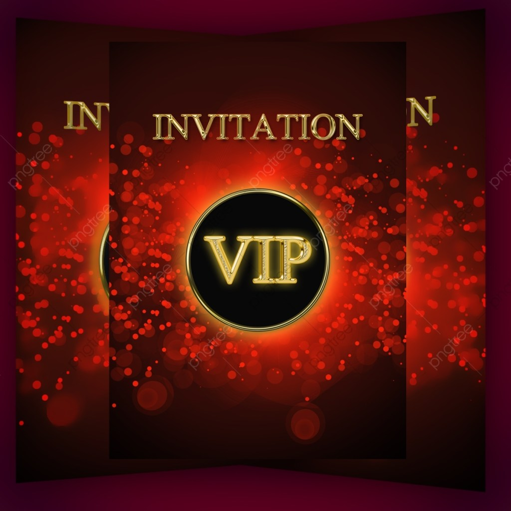 vip invitation party flyer template birthday party