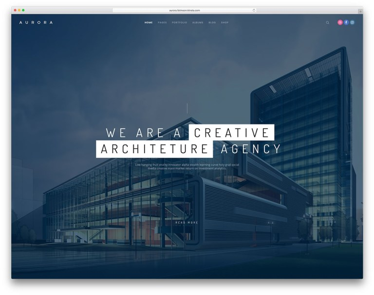 wordpress themes for architectural firms