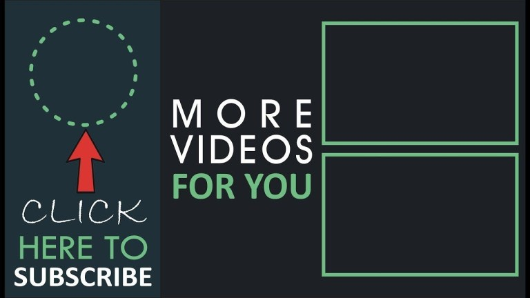 youtube outroendscreen template free download endscreen no