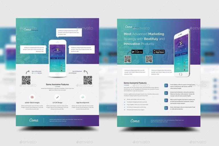 promotion flyer template for free