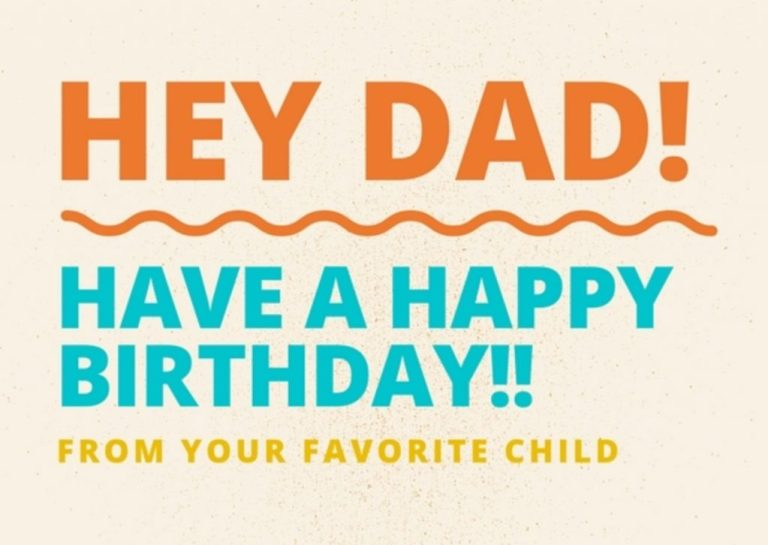 100 happy birthday messages and images for dads