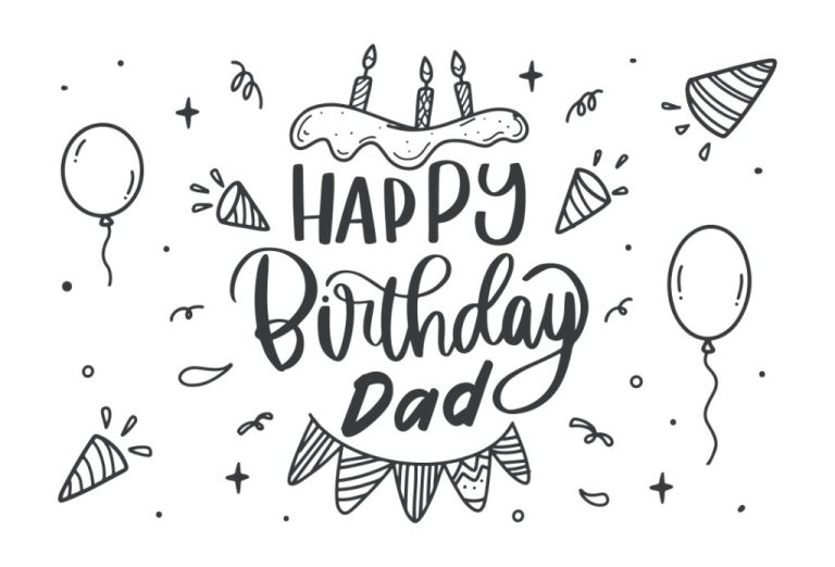 9 best printable birthday cards for dad printablee