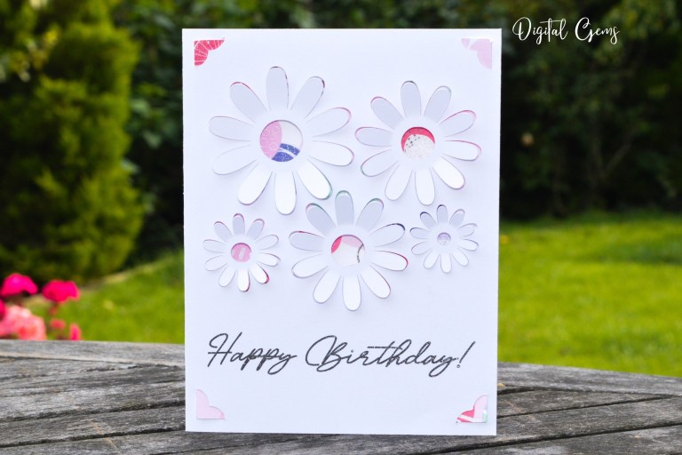 birthday cards now compatible with the cricut joy