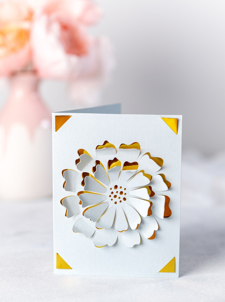 card making with cricut joy easy last minute pop up card