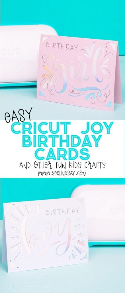 cricut kids crafts with the cricut joy seelindsay