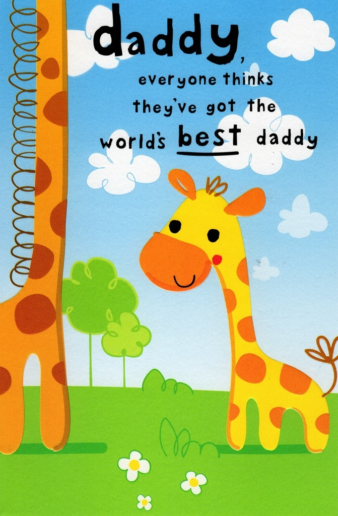 cute best daddy happy fathers day card cards love kates