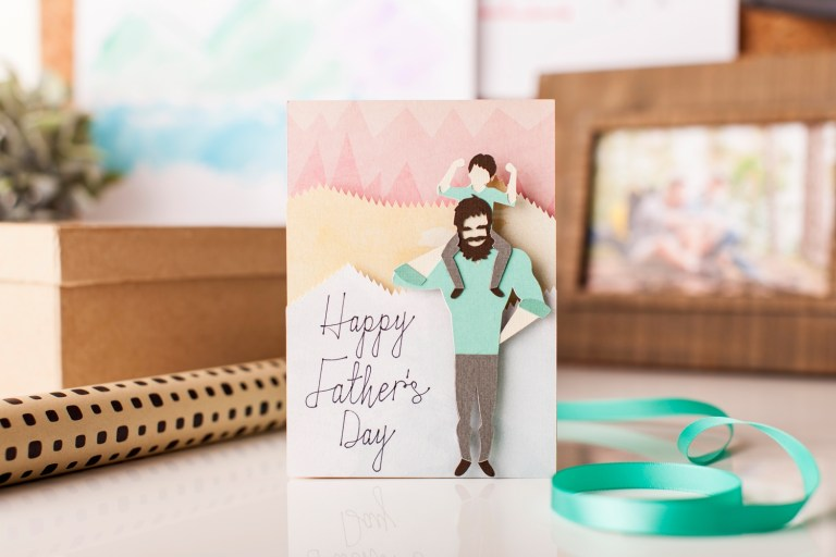 do it for dad fathers day cards cricut