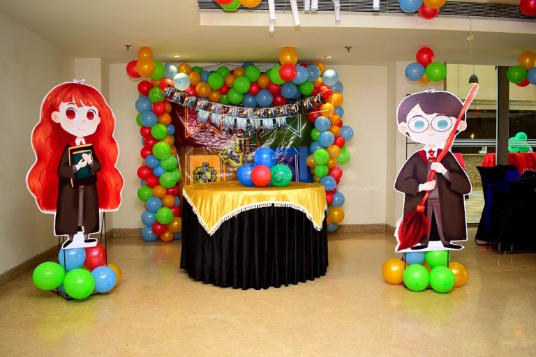 epic harry potter theme party decoration multicolor balloons at home in delhi ncr bangalore