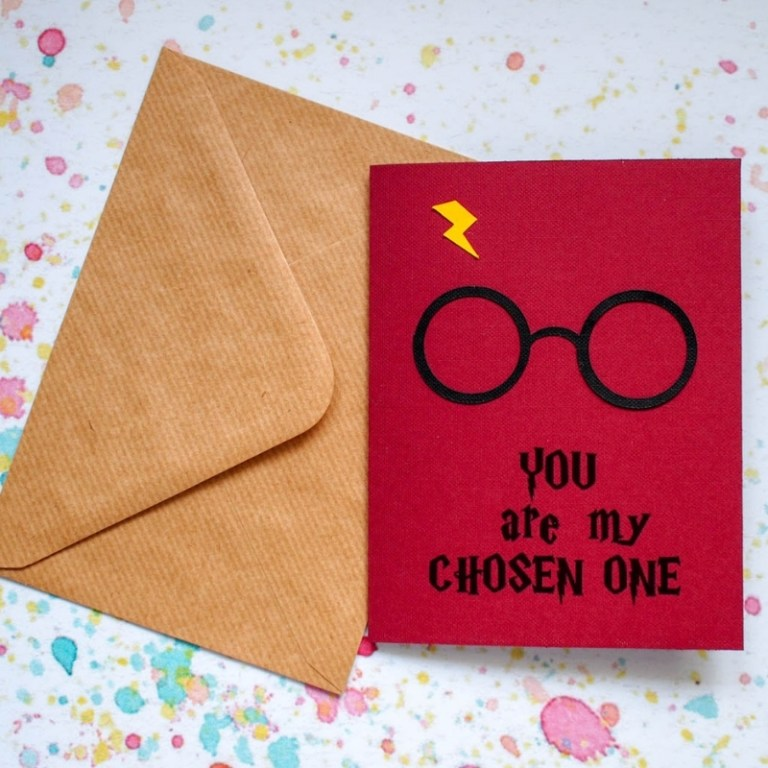 free printable harry potter valentines card mum in the