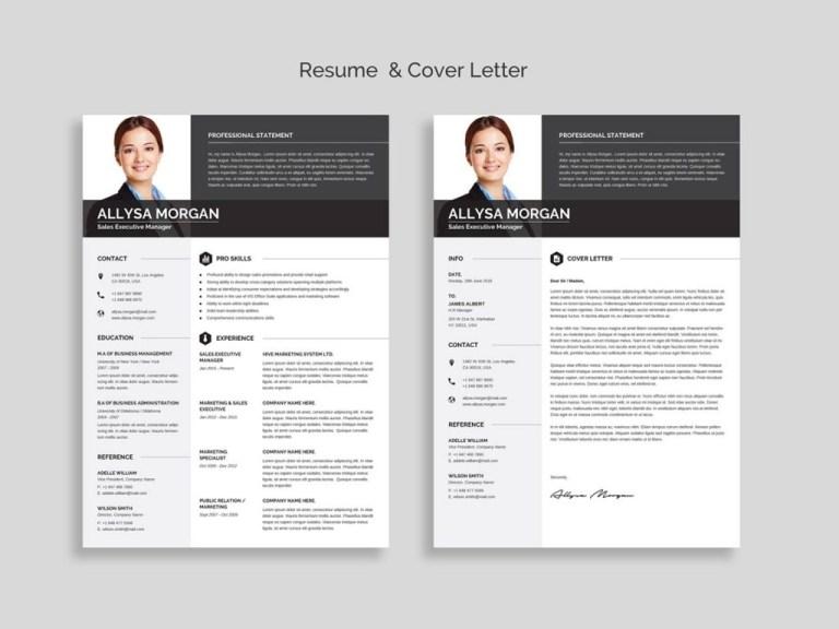 free professional resume template word 2020 maxresumes