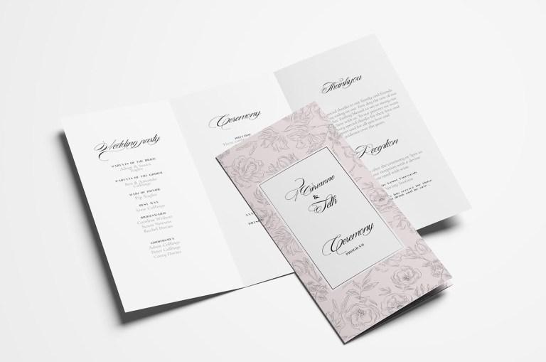 free wedding stationery templates for photoshop illustrator