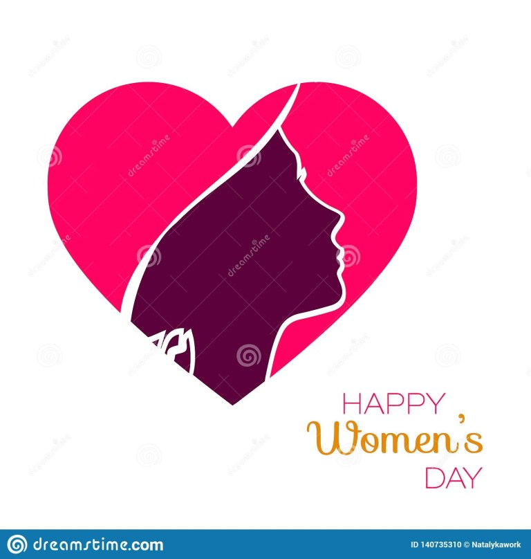 happy women day holiday color vector illustration paper