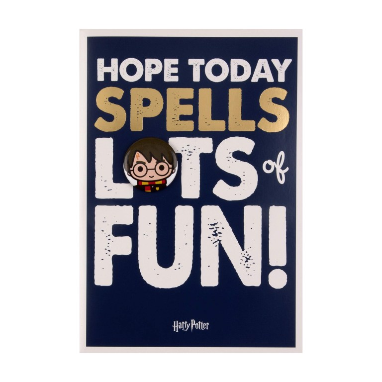 harry potter birthday card for kids from hallmark with
