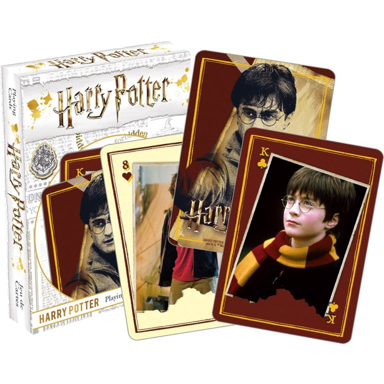 harry potter deck of playing cards