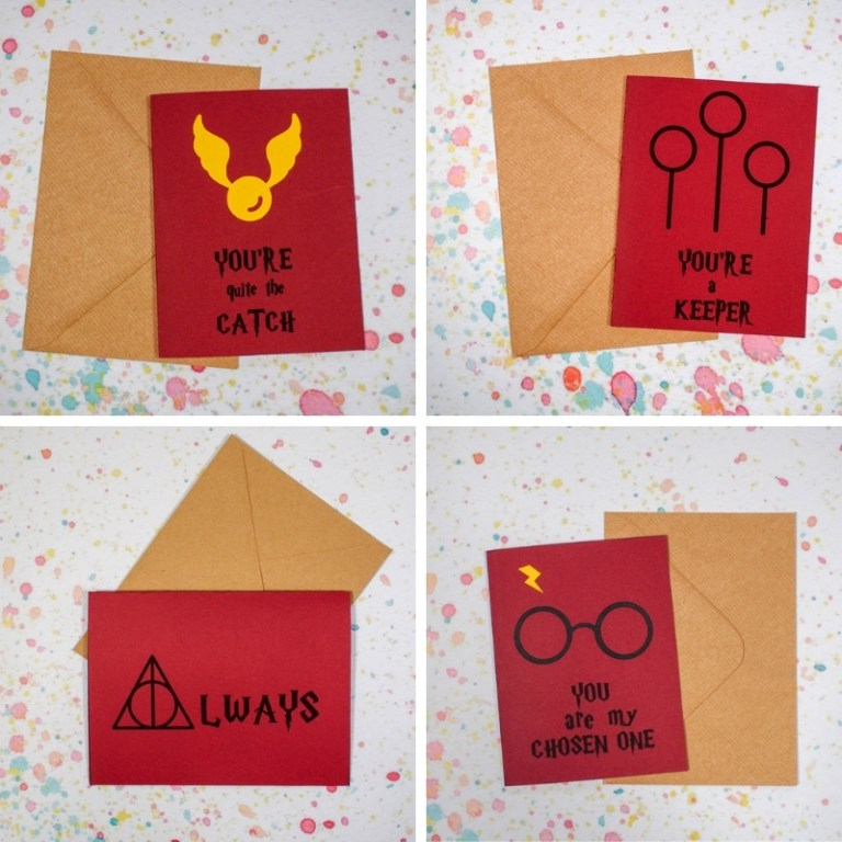 harry potter valentines cards free printables mum in the
