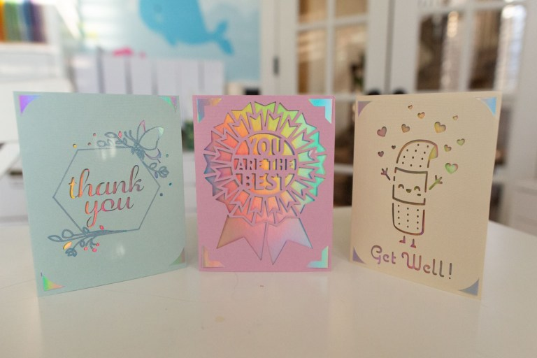 how to use cricut joy insert cards to make cards with pictures