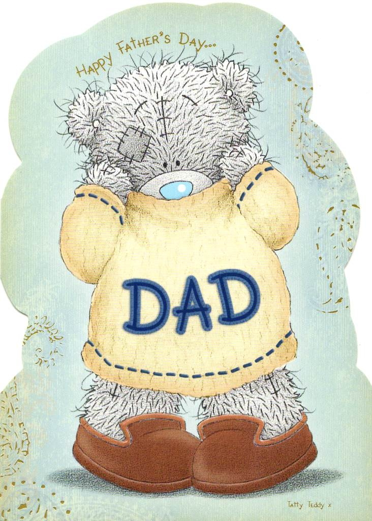 me to you bear happy fathers day dad card cute carte