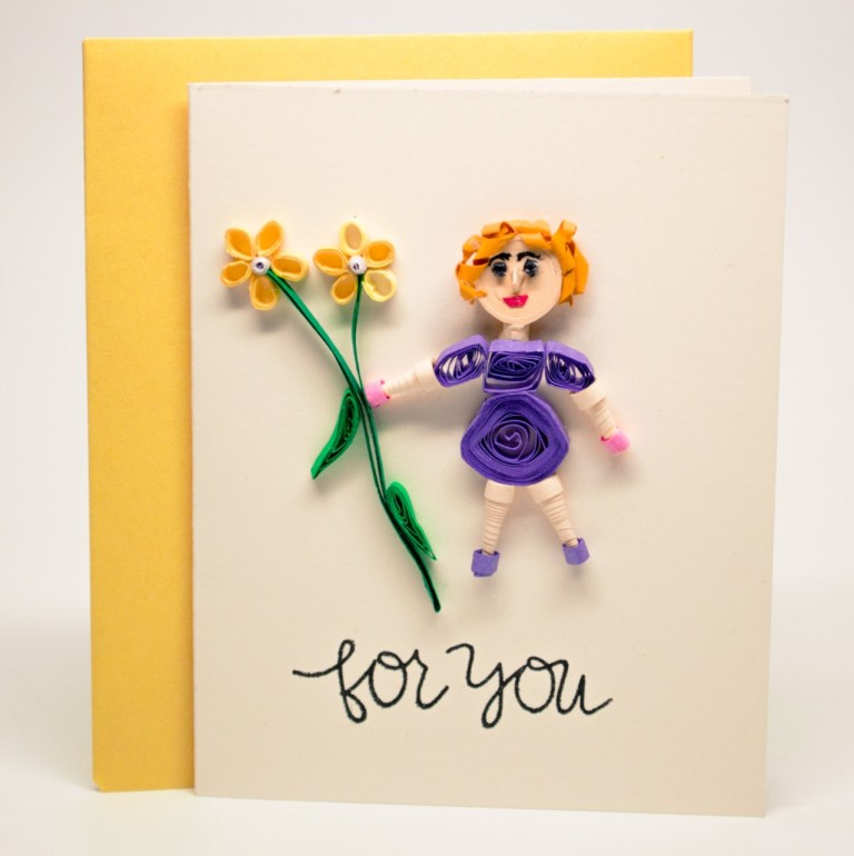 of things pretty mothers day card mom birthday card
