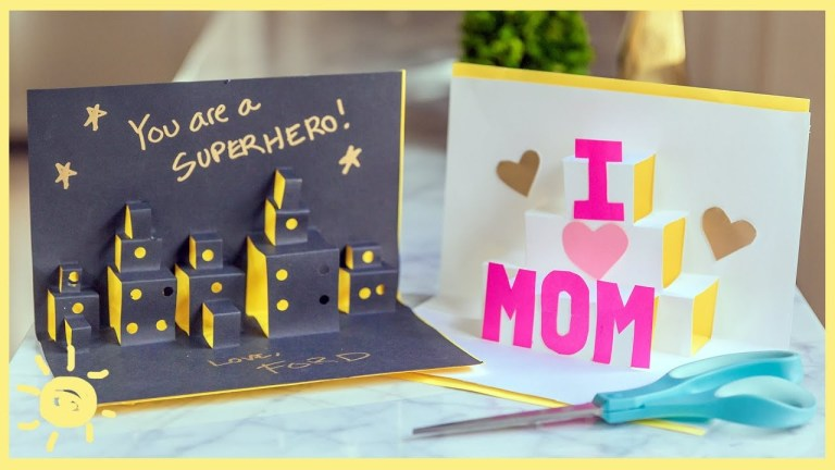 play amazing pop up cards kids can make