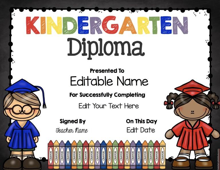 preschool graduation diplomas free printables hatunisi