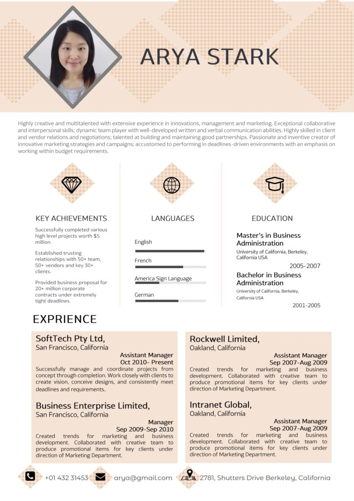 professional word resume template vista resume