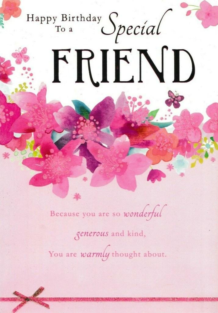 valentine card design happy birthday card to a special friend