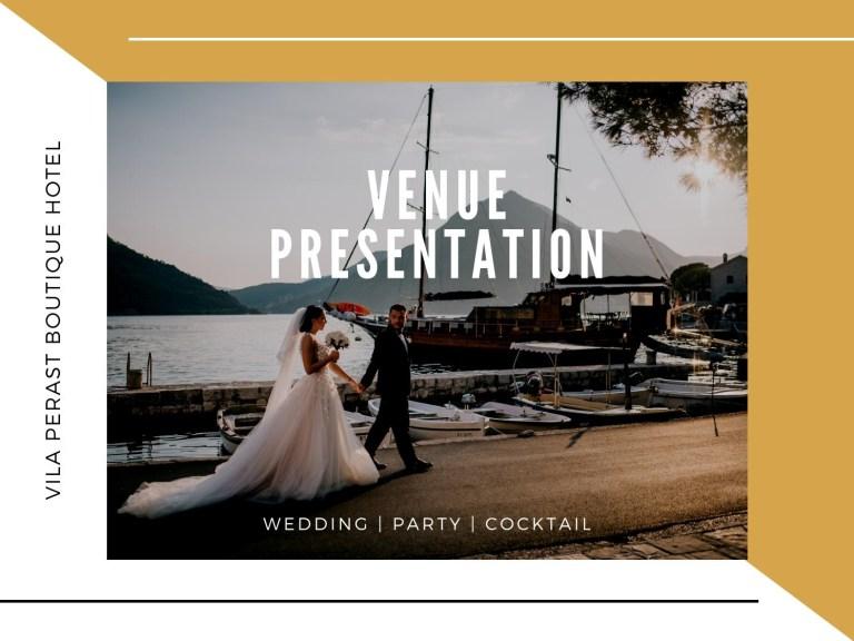 vila perast hotel and bistrot wedding brochure vila