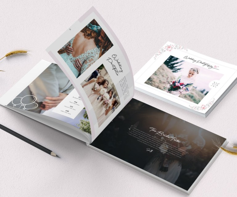 wedding photography lookbook corporate identity template