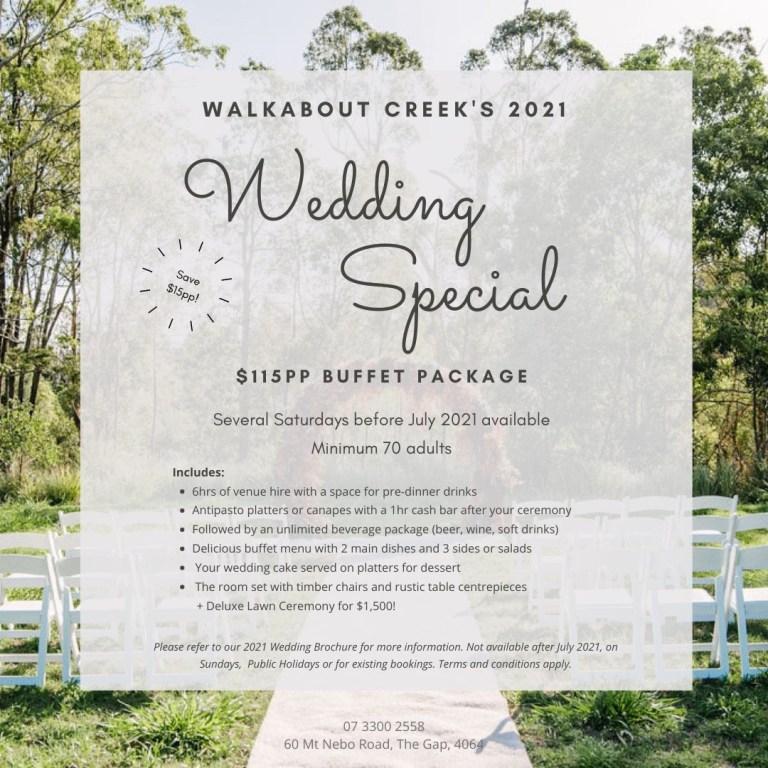 weddings brisbane walkabout creek rainforest wedding venue