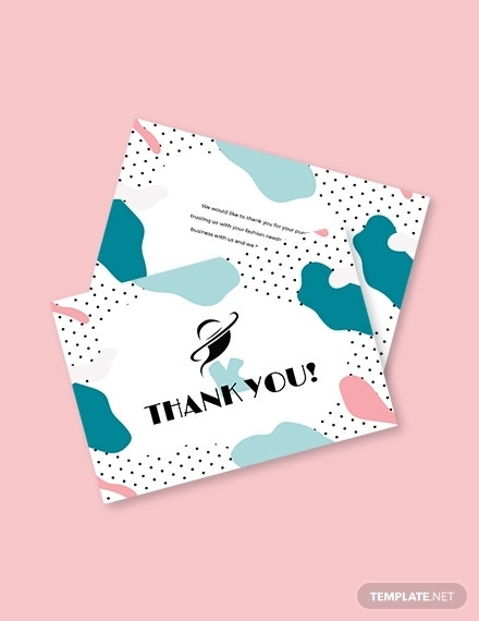 34 free thank you card templates psd ai vector eps