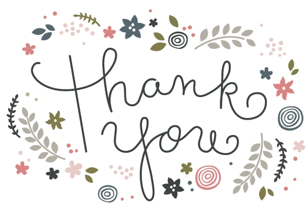 34 printable thank you cards for all purposes