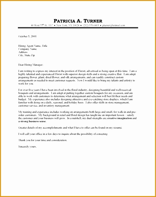 4 basic cover letter for resume free samples examples