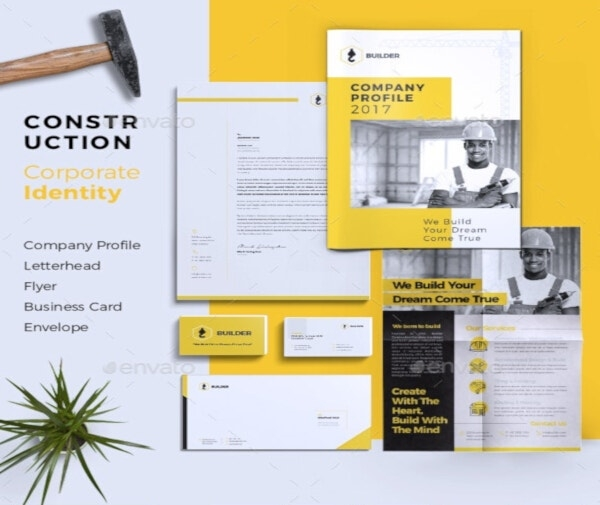 7 free construction letterhead templates word pages