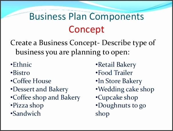 8 bakery business plan template sampletemplatess
