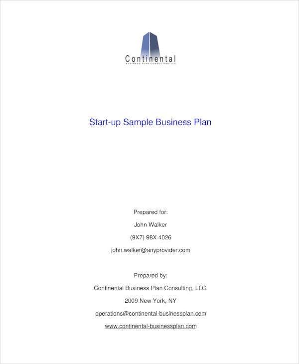 9 startup marketing plan templates pdf docs free