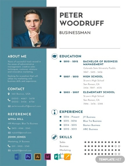 91 free one page resume templates word doc psd