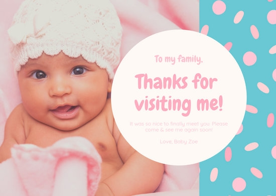customize 86 ba shower thank you card templates online