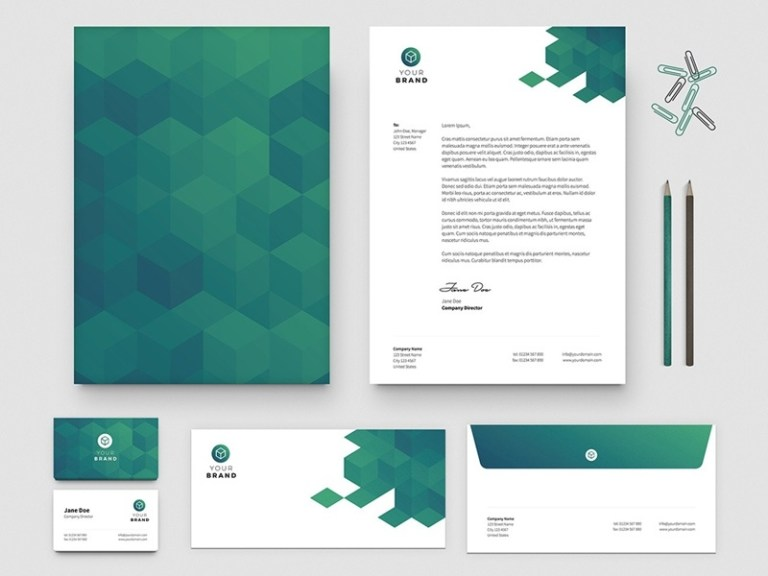 free business card letterhead template tony thomas