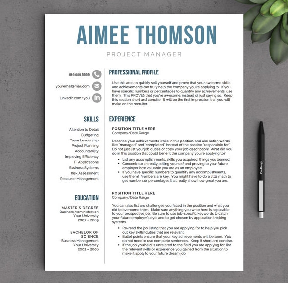 modern cv template word free download cakeb