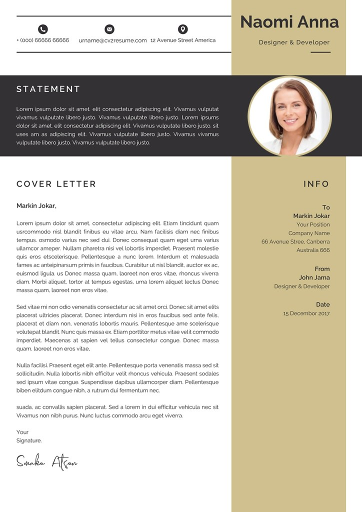 simple cover letter templates to download in word format
