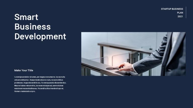 startup business plan presentation slideppt templates