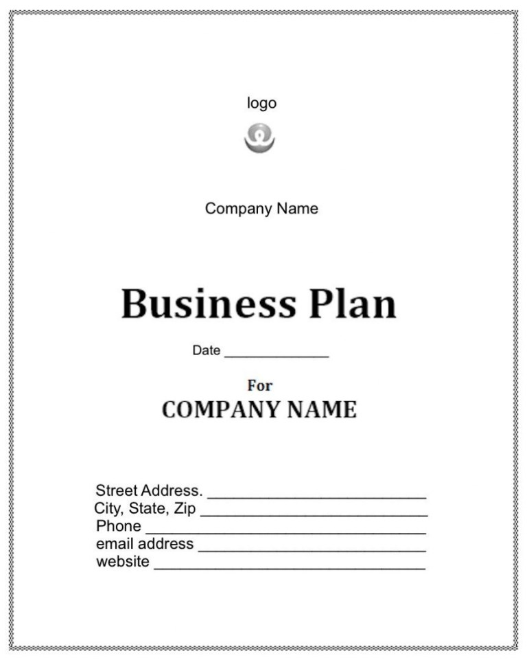 startup business plan template addictionary