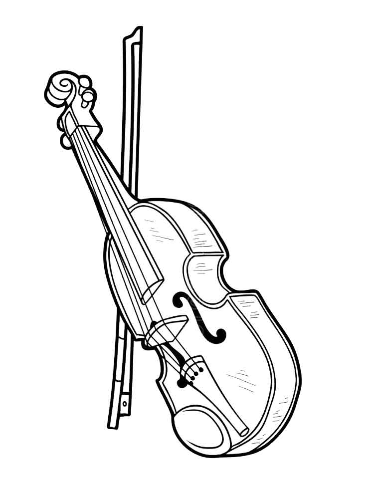 Music Coloring Pages Printable